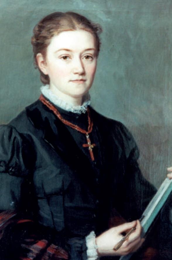 Porträt von Agnes Pockels
