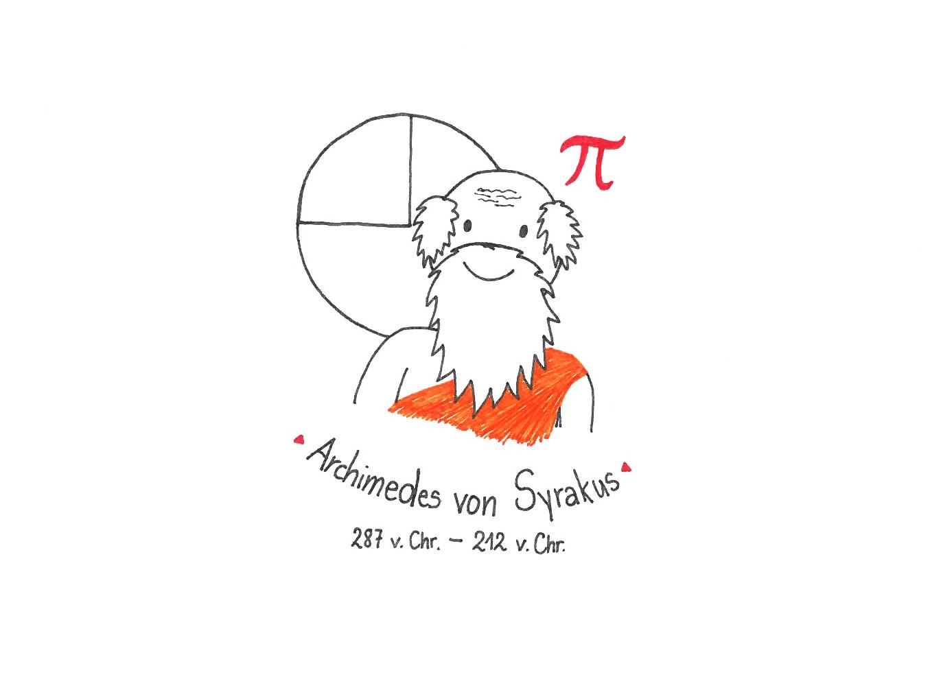 Illustration von Archimedes von Sokrates