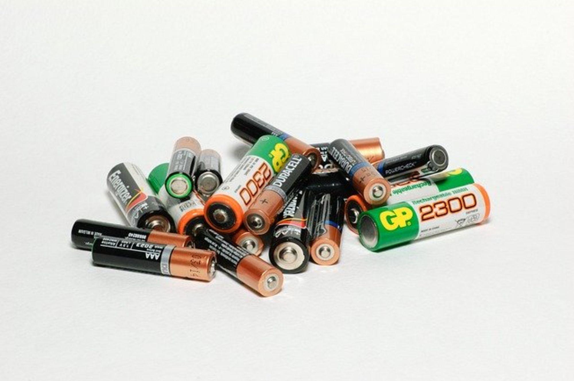 Fotografie von Batterien, eine österreichische Erfindung