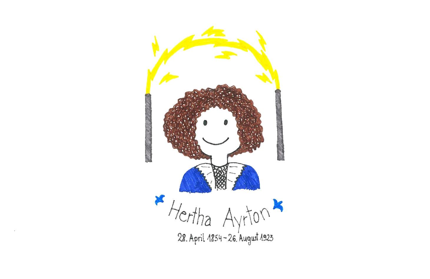 Illustration von Hertha Ayrton