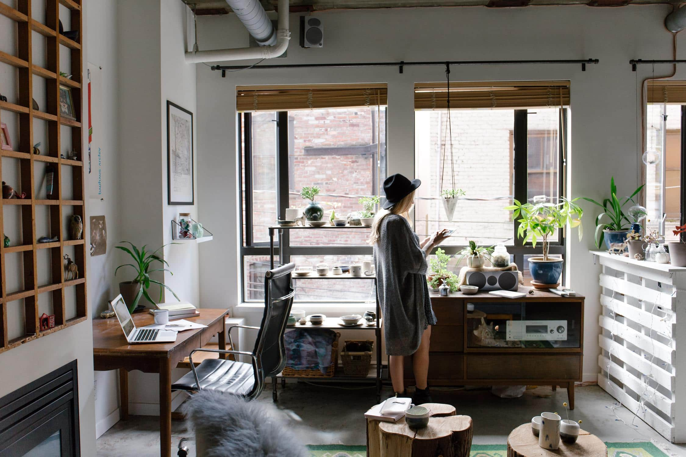 Wohnzimmer Frau