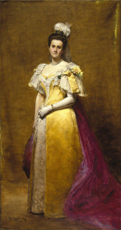 Porträt von Emily Warren Roebling um 1896