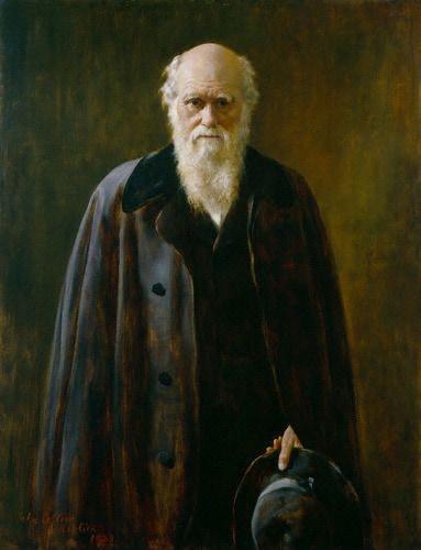 Portrait von Charles Darwin, gemalt von John Collier