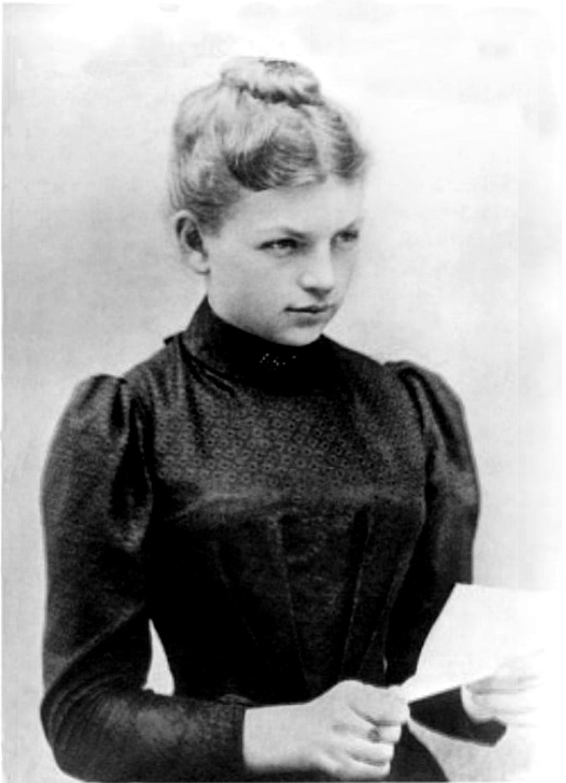 Fotografie der jungen Clara Immerwahr
