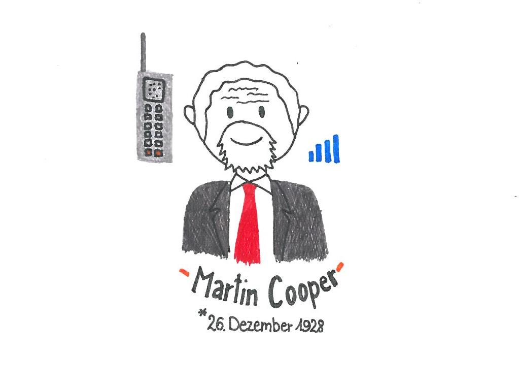 Illustration von Martin Cooper