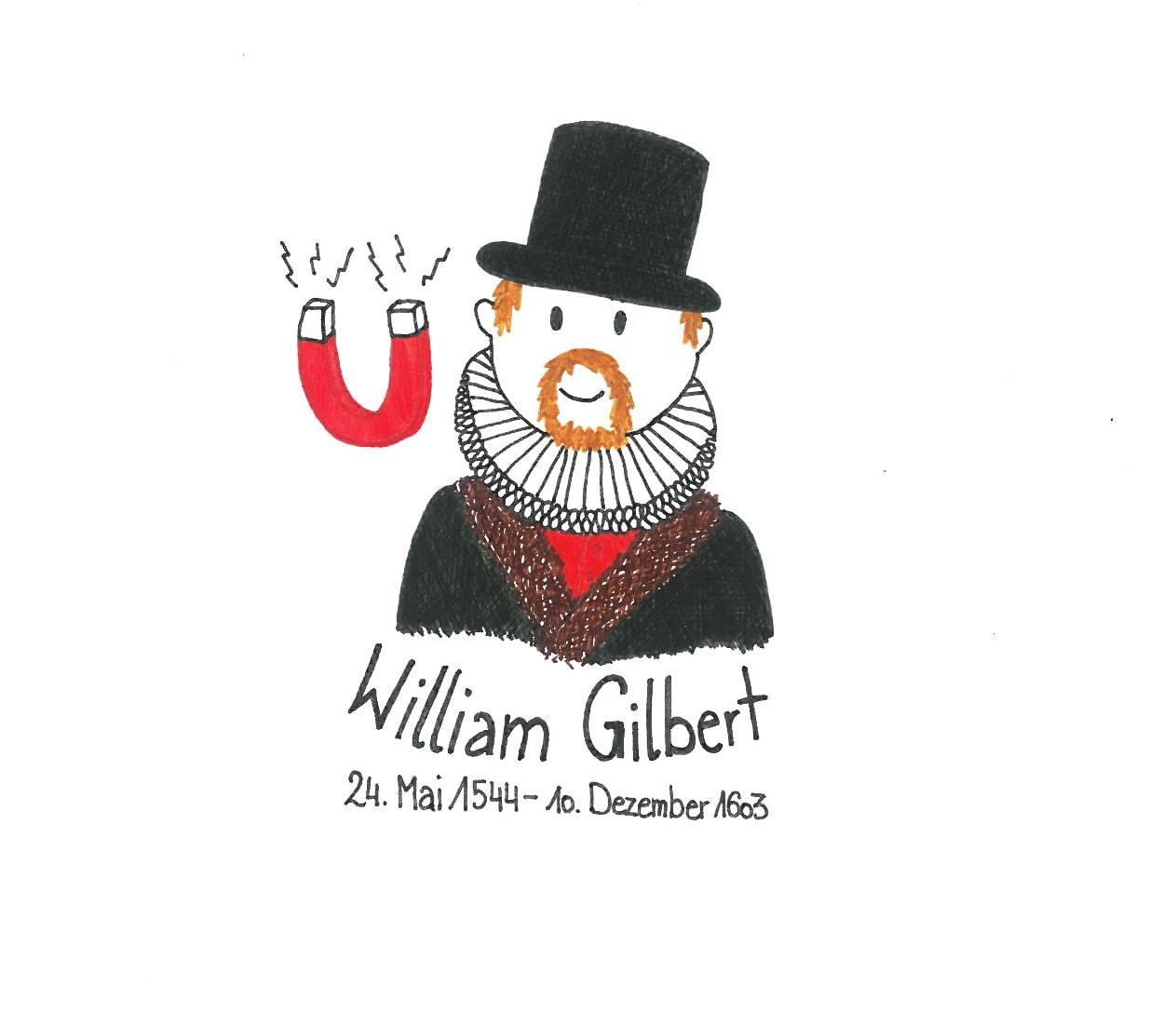 Illustration von William Gilbert