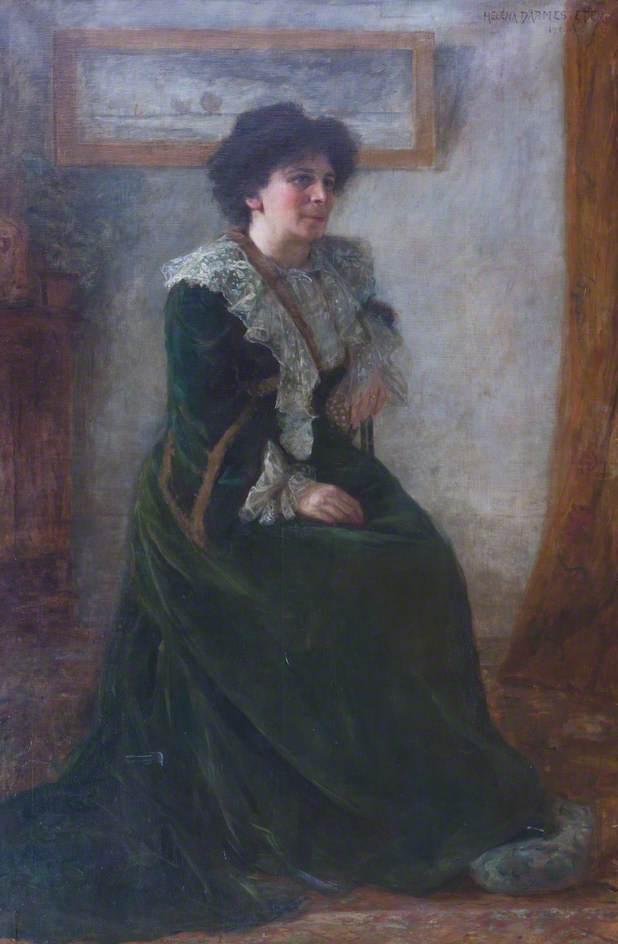 Portrait von Hertha Ayrton