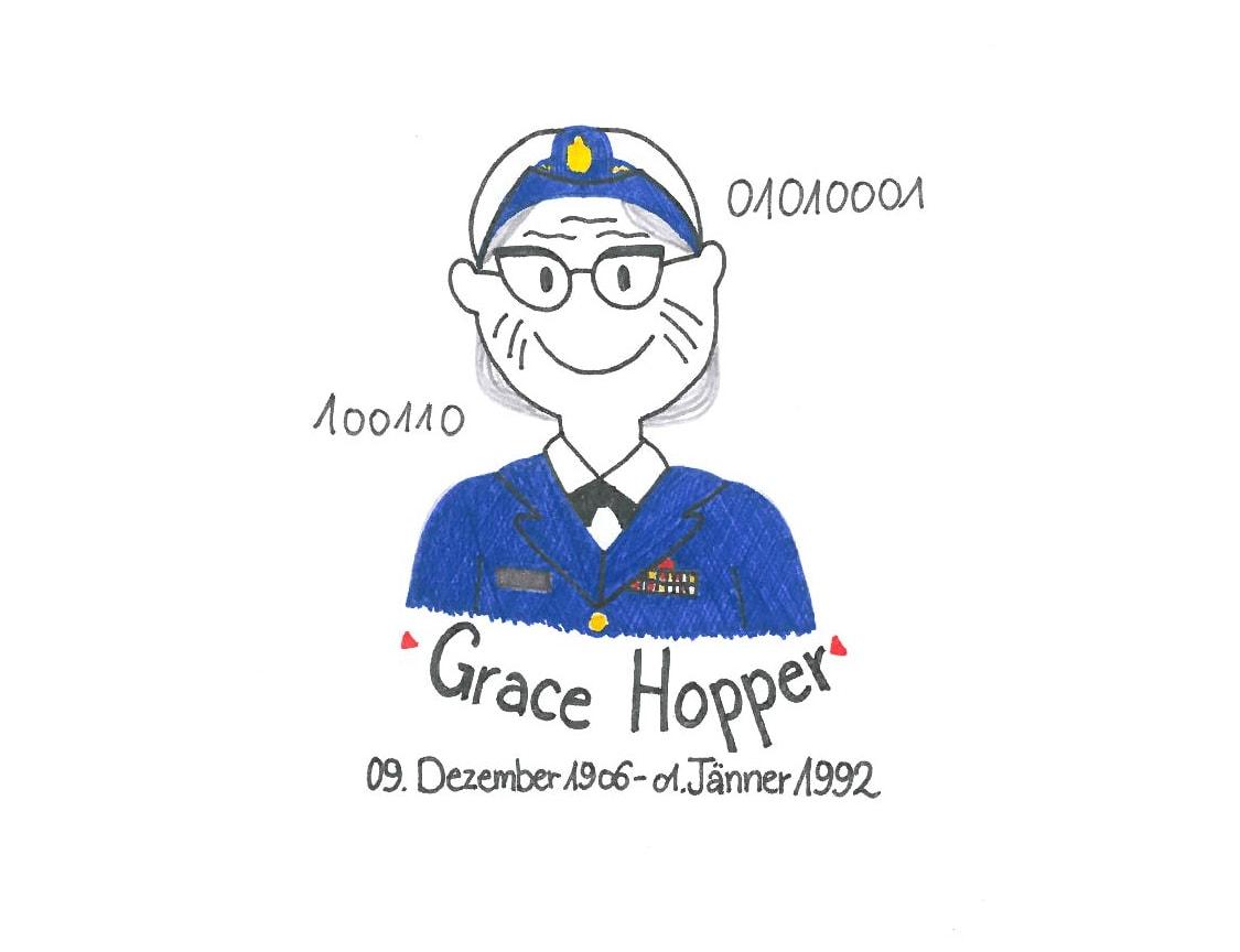 Illustration von Grace Hopper