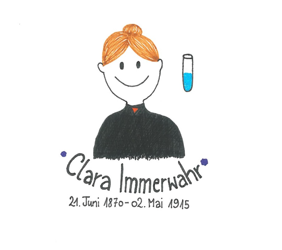 Illustration von Clara Immerwahr