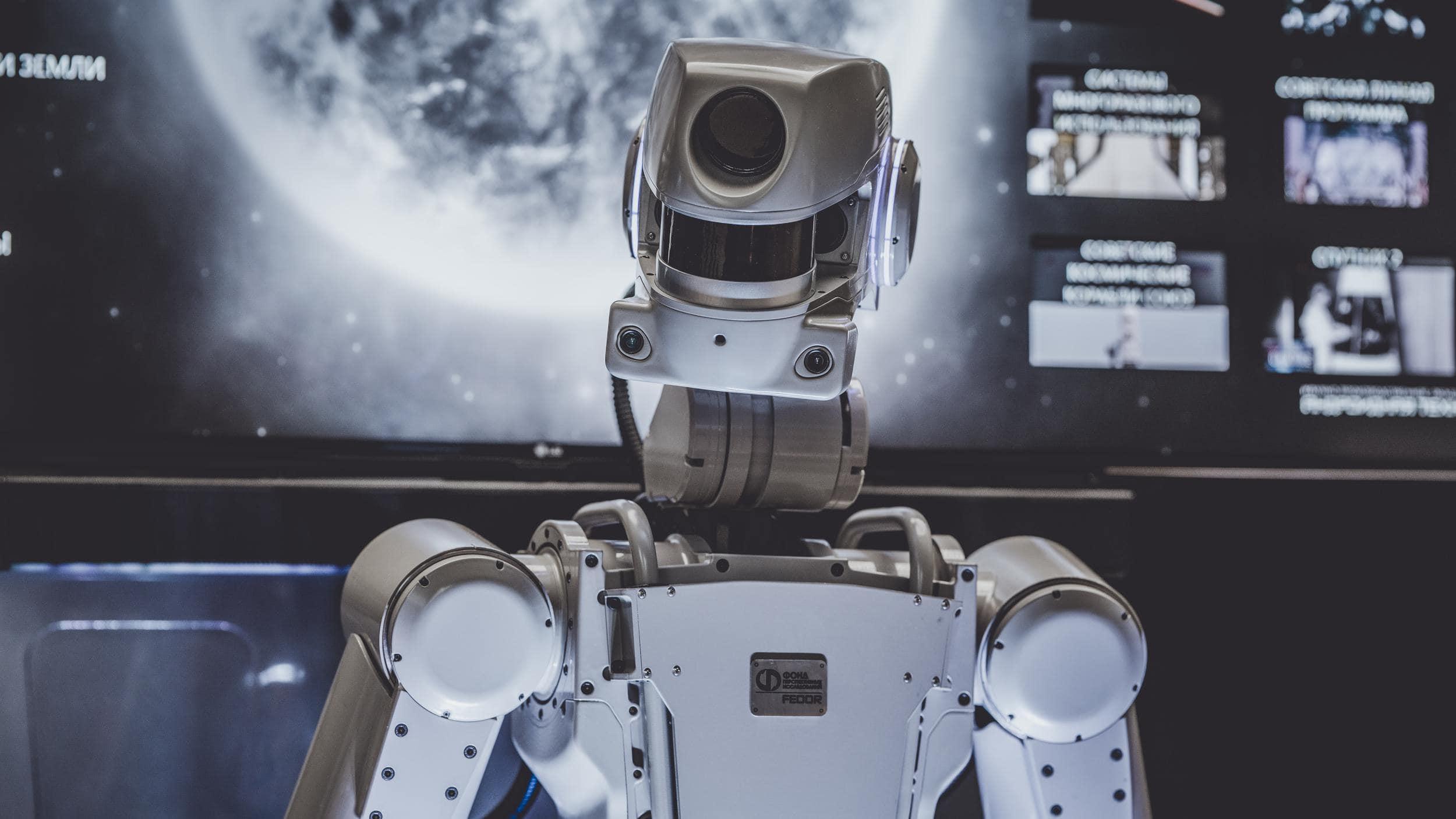 Roboter im All