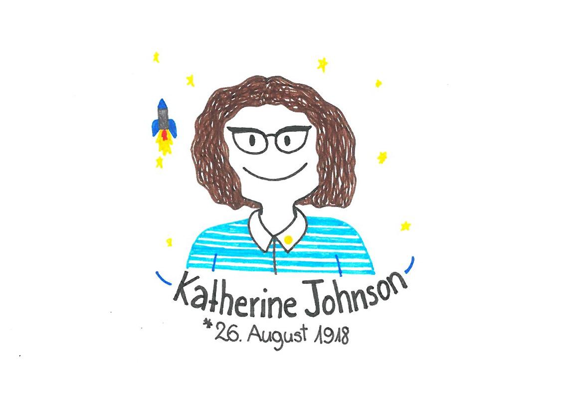 Illustration von Katherine Johnson