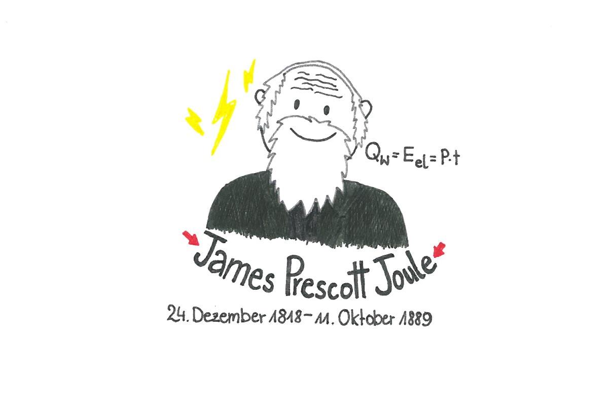Illustration von James Prescott Joule