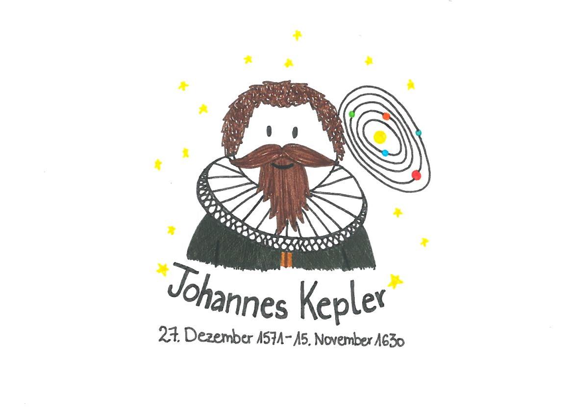 Illustration von Johannes Kepler