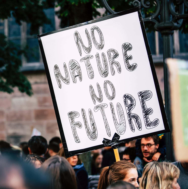 Protest gegen Klimawandel