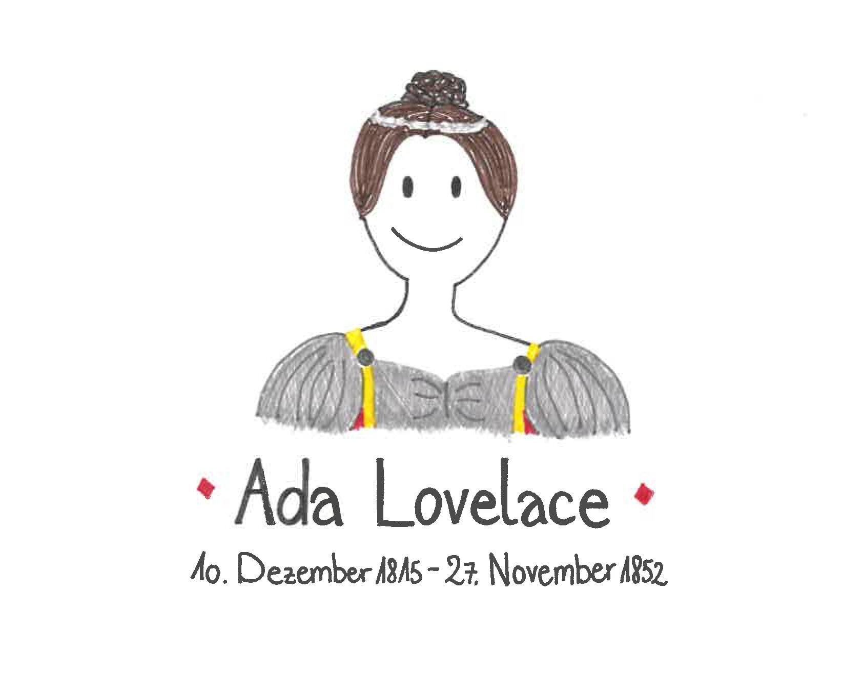 Illustration von Ada Lovelace