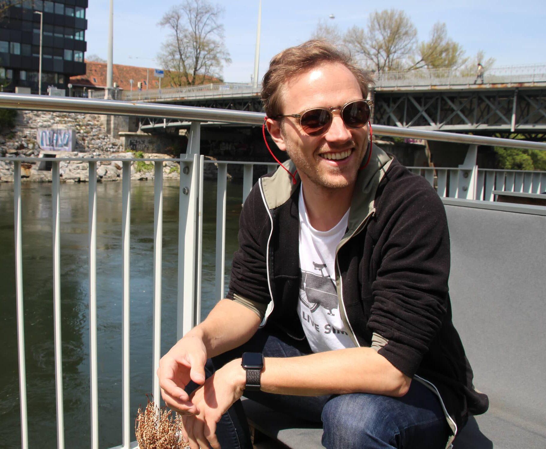 Malwin Haas, Program Manager im Bereich E-Mobilität