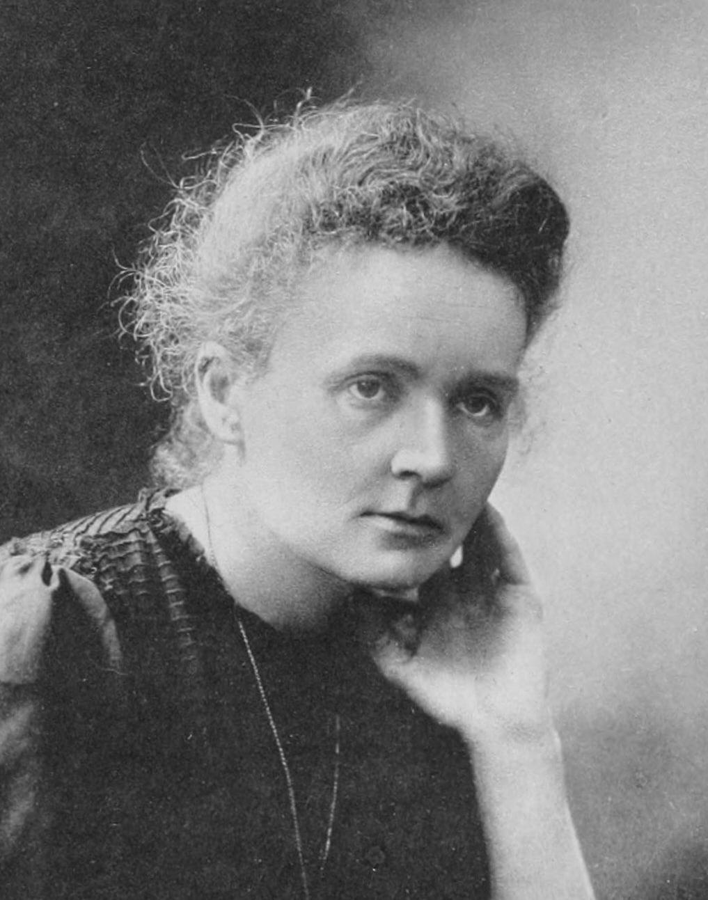Fotografie von Marie Curie