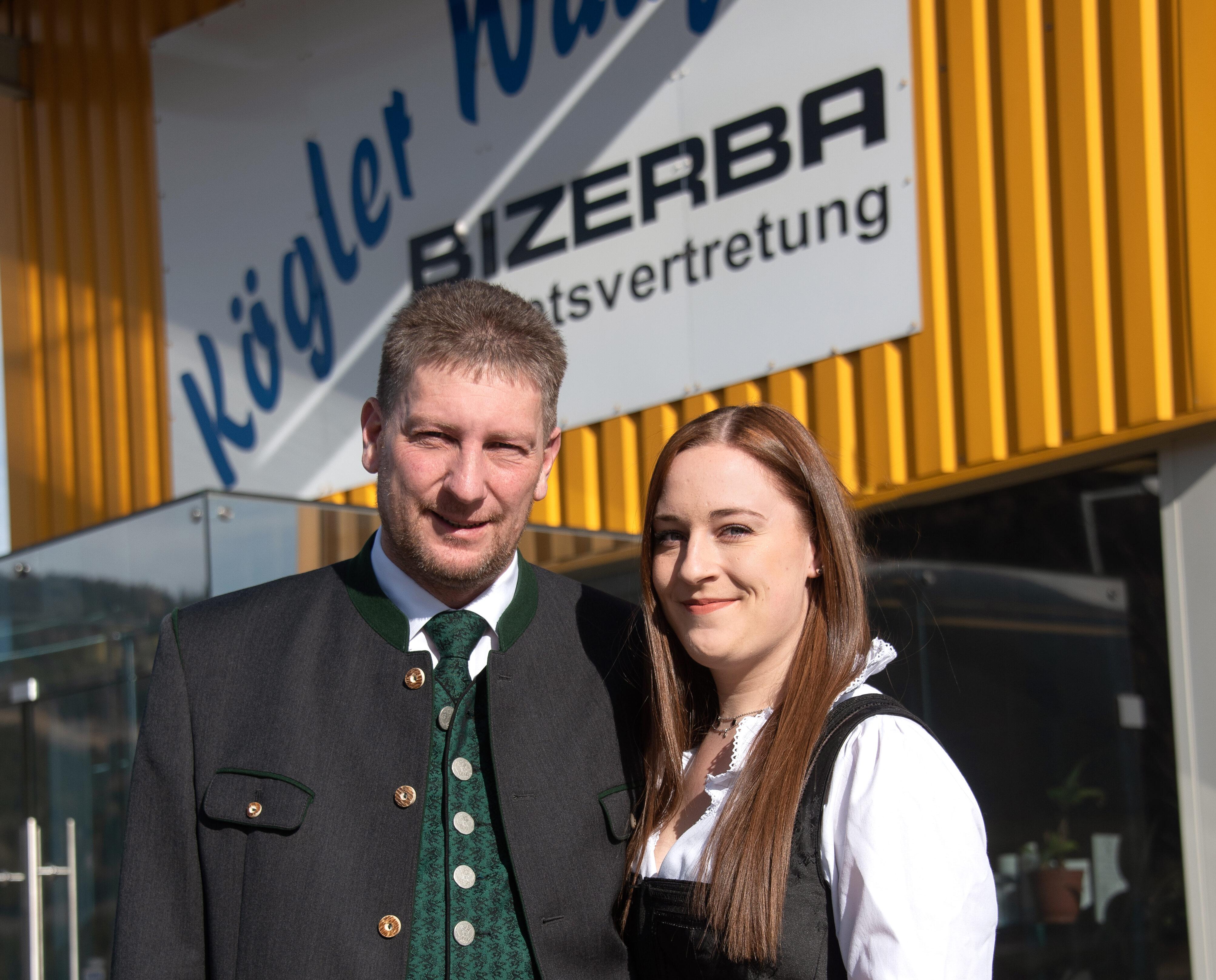 Thomas Kögler und Nicole Kögler von Waagen Kögler