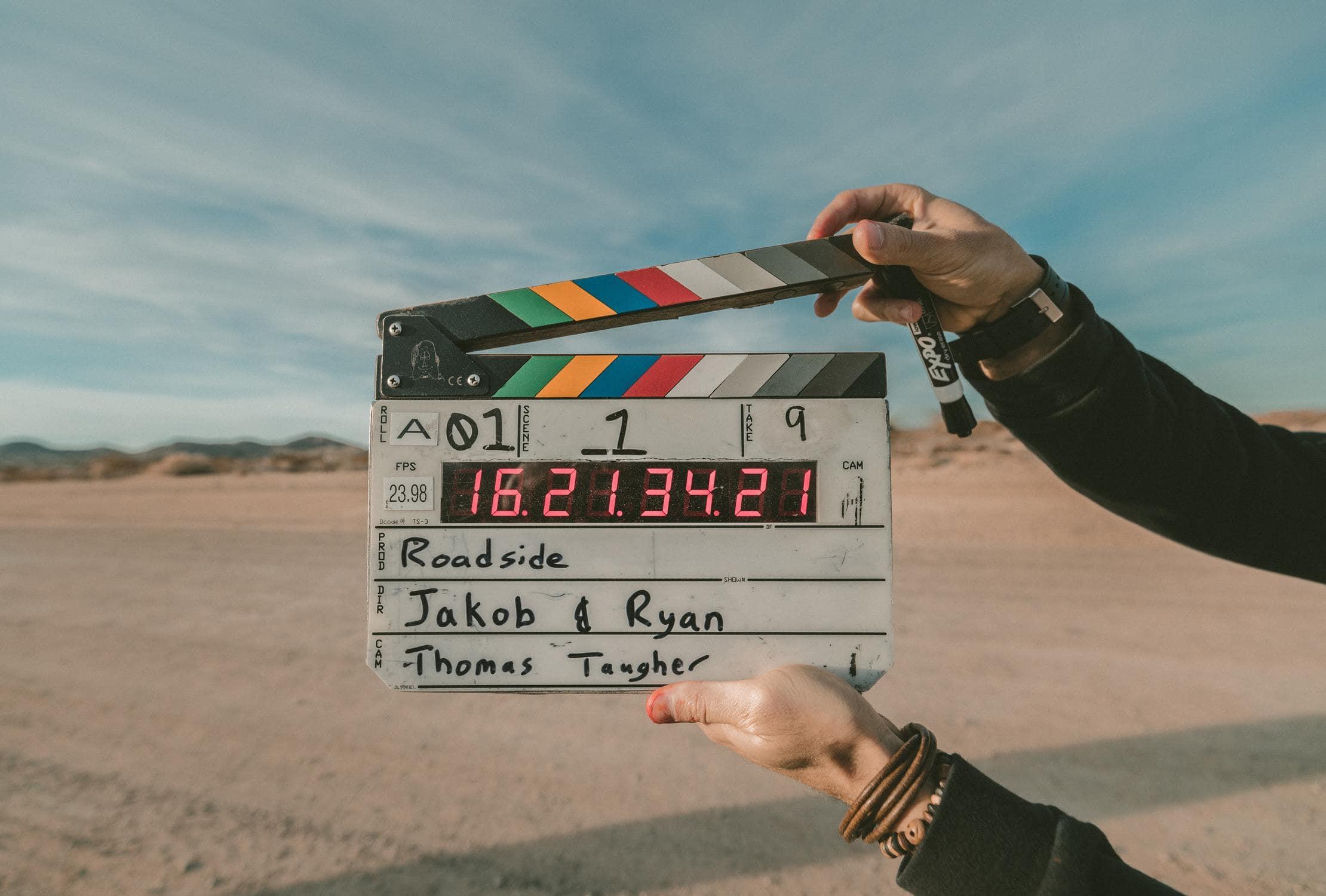 Das perfekte Video wird hier in der Wüste gedreht