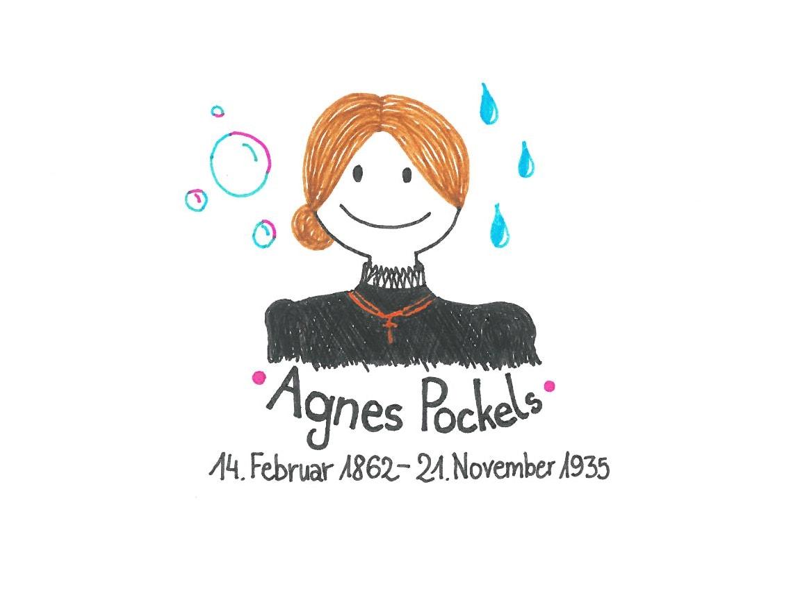Illustration von Agnes Pockels