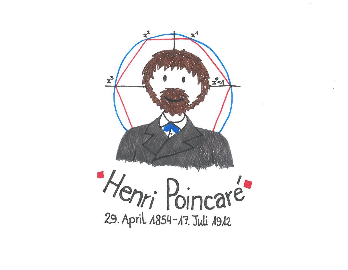 Illustration von Henri Poincaré