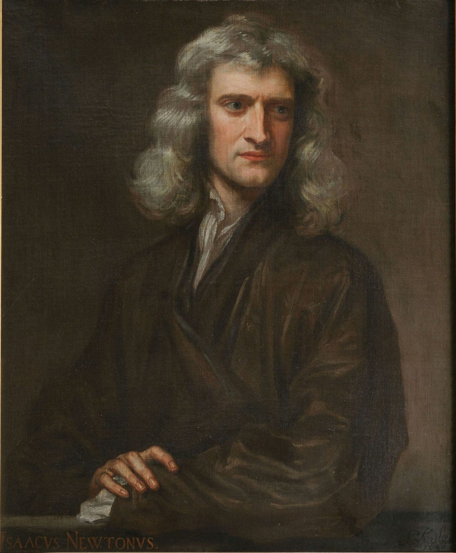 Porträt von Sir Isaac Newton