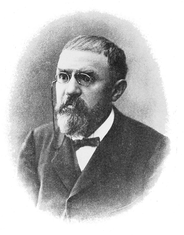 Fotografie von Henri Poincaré
