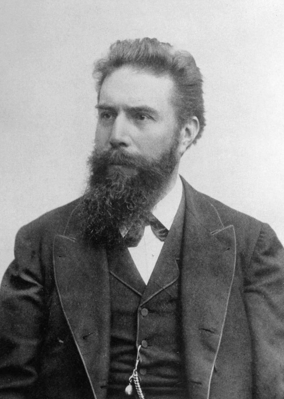 Fotografie von Wilhelm Conrad Roentgen