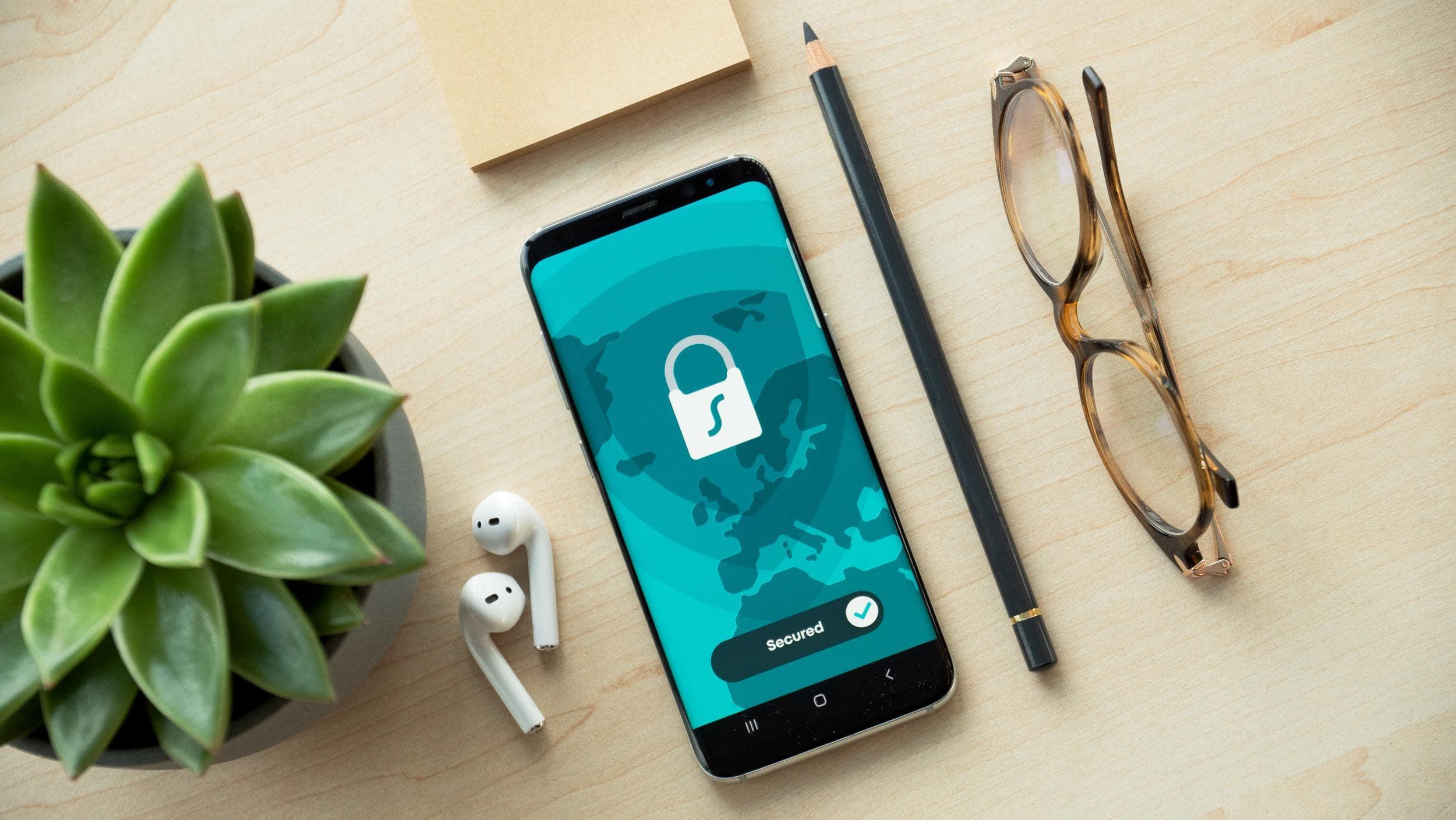 Handy ist gesperrt mit sicherem Passwort