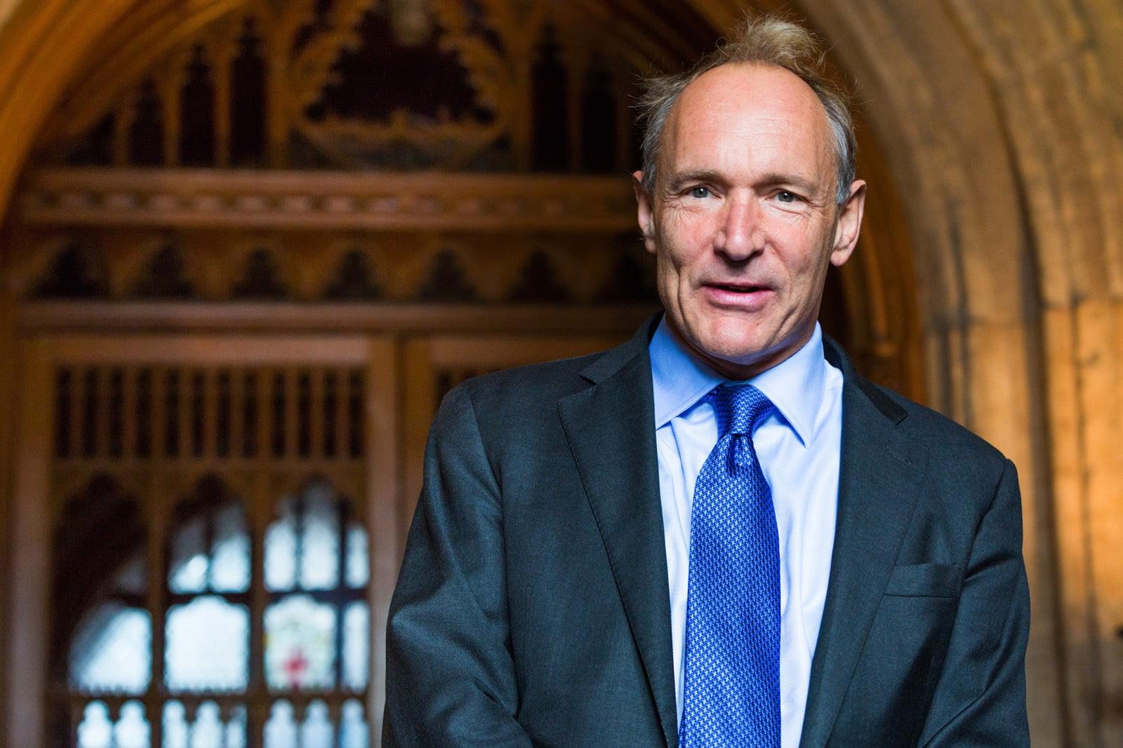 Fotografie von Tim Berners-Lee