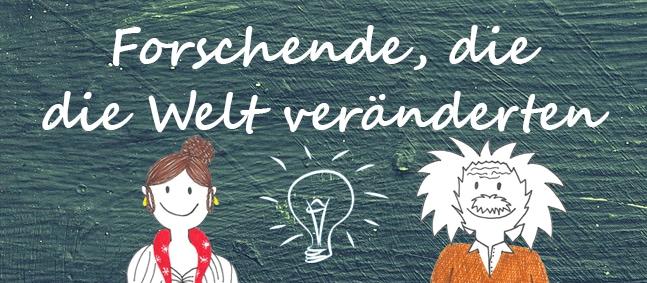 Illustration von Caroline Eichler und Albert Einstein