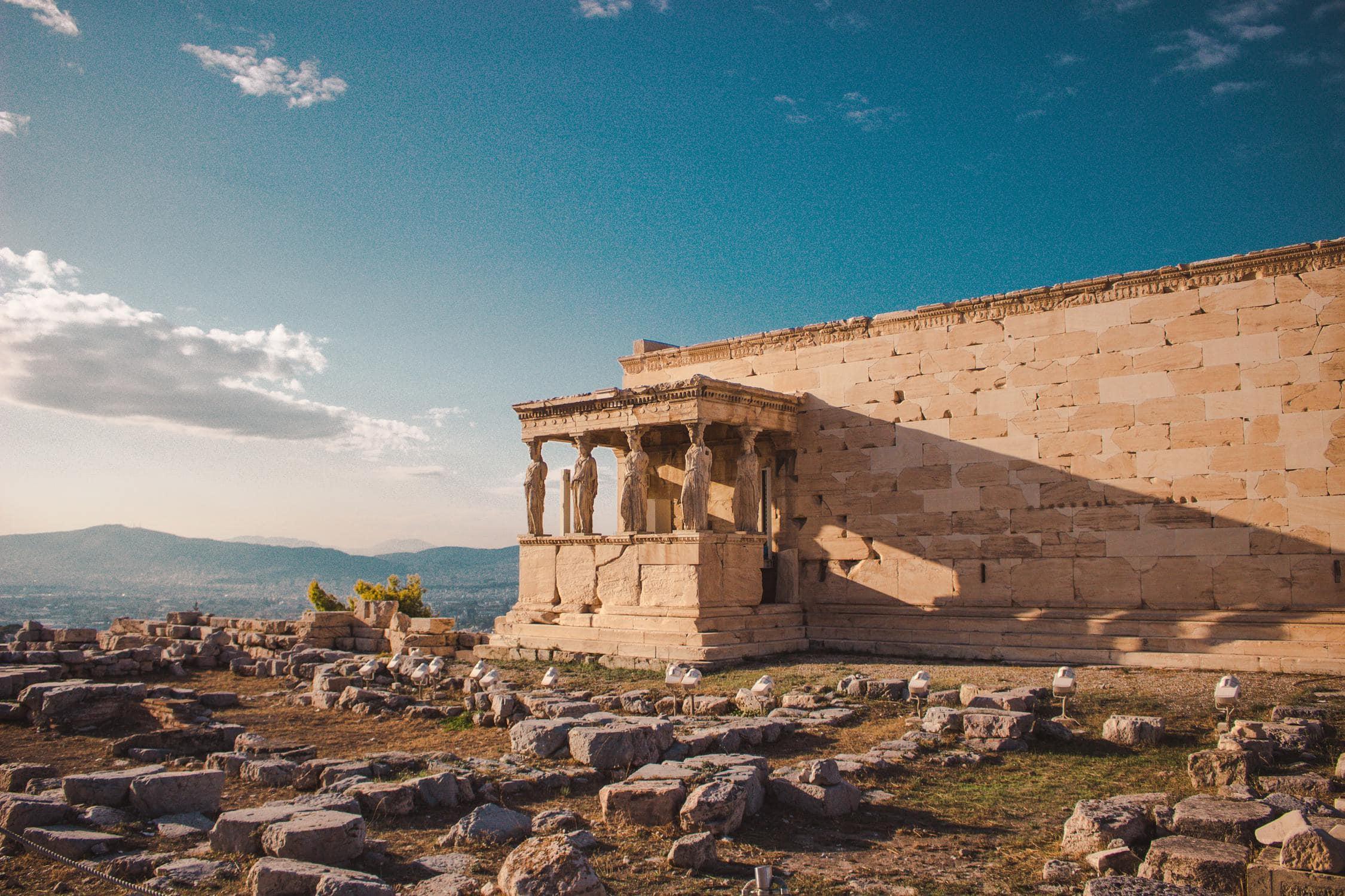 Antikes Gebäude früherer Zivilisationen