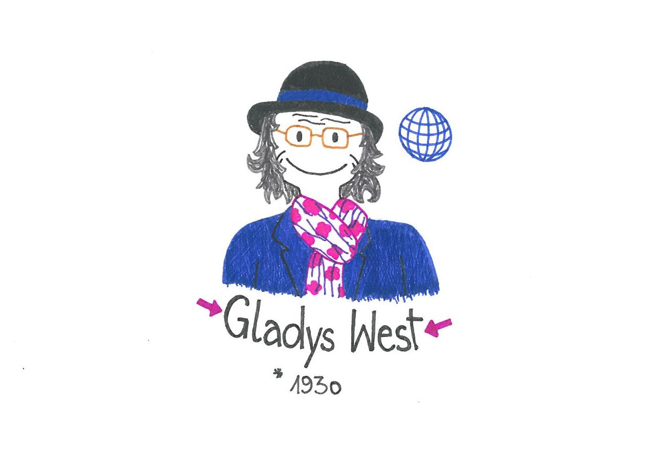 Illustration von Gladys West