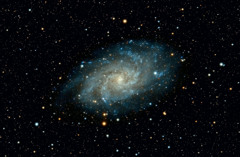 Eine Galaxie im Universum