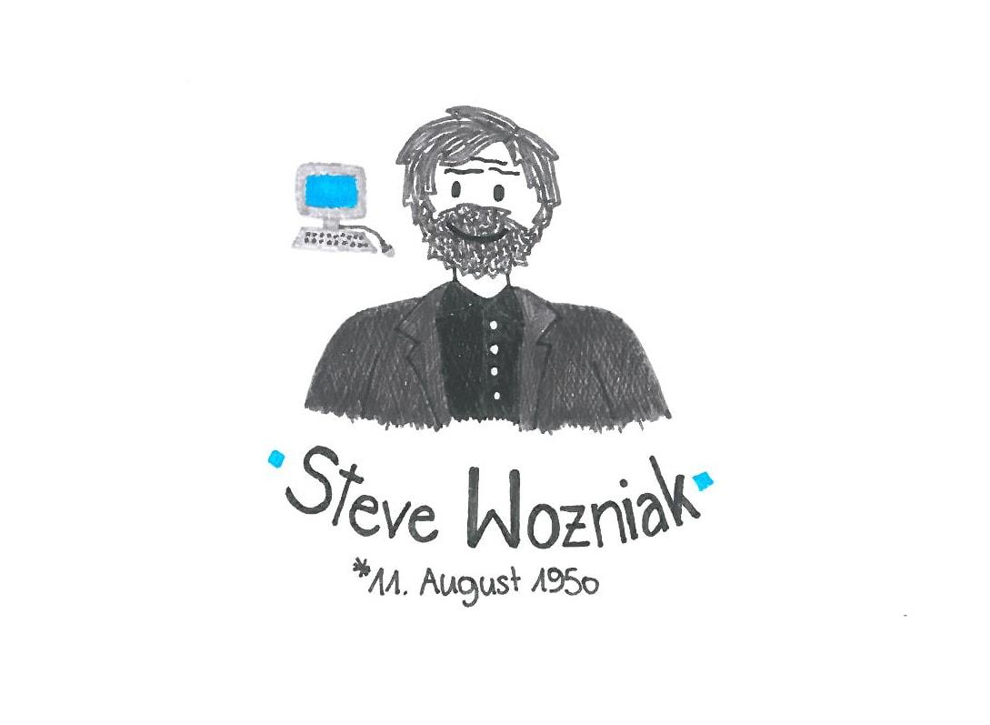 Illustration von Steve Wozniak