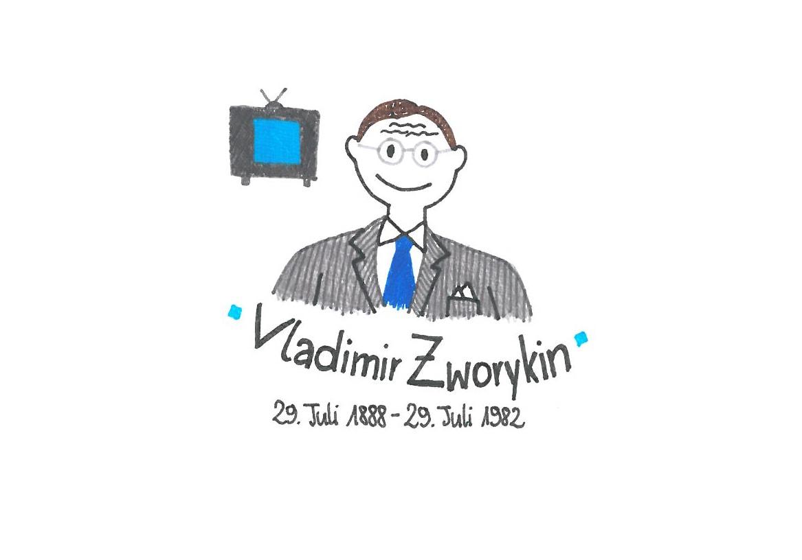 Illustration von Vladimir Zworykin