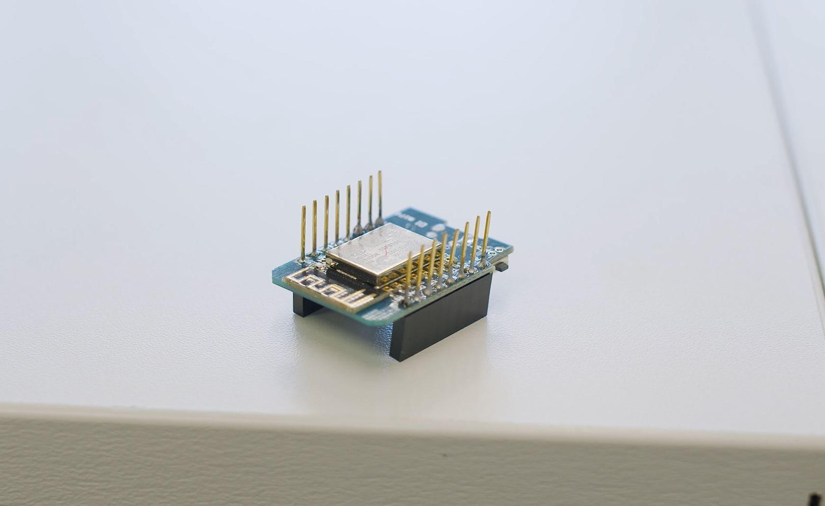 Mikro-Controller des Air Smileys der HTL Weiz