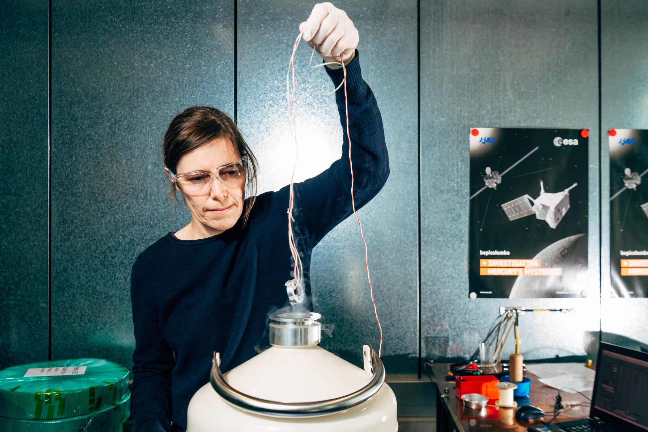 Irmgard Jernej vom österreichischen Institut für Weltraumforschung