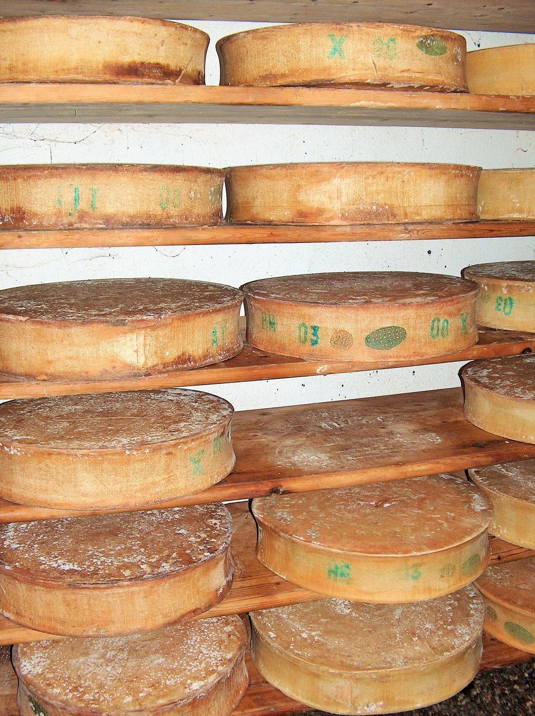 Beaufort-Käse, aus dem Elektrizität produziert wird