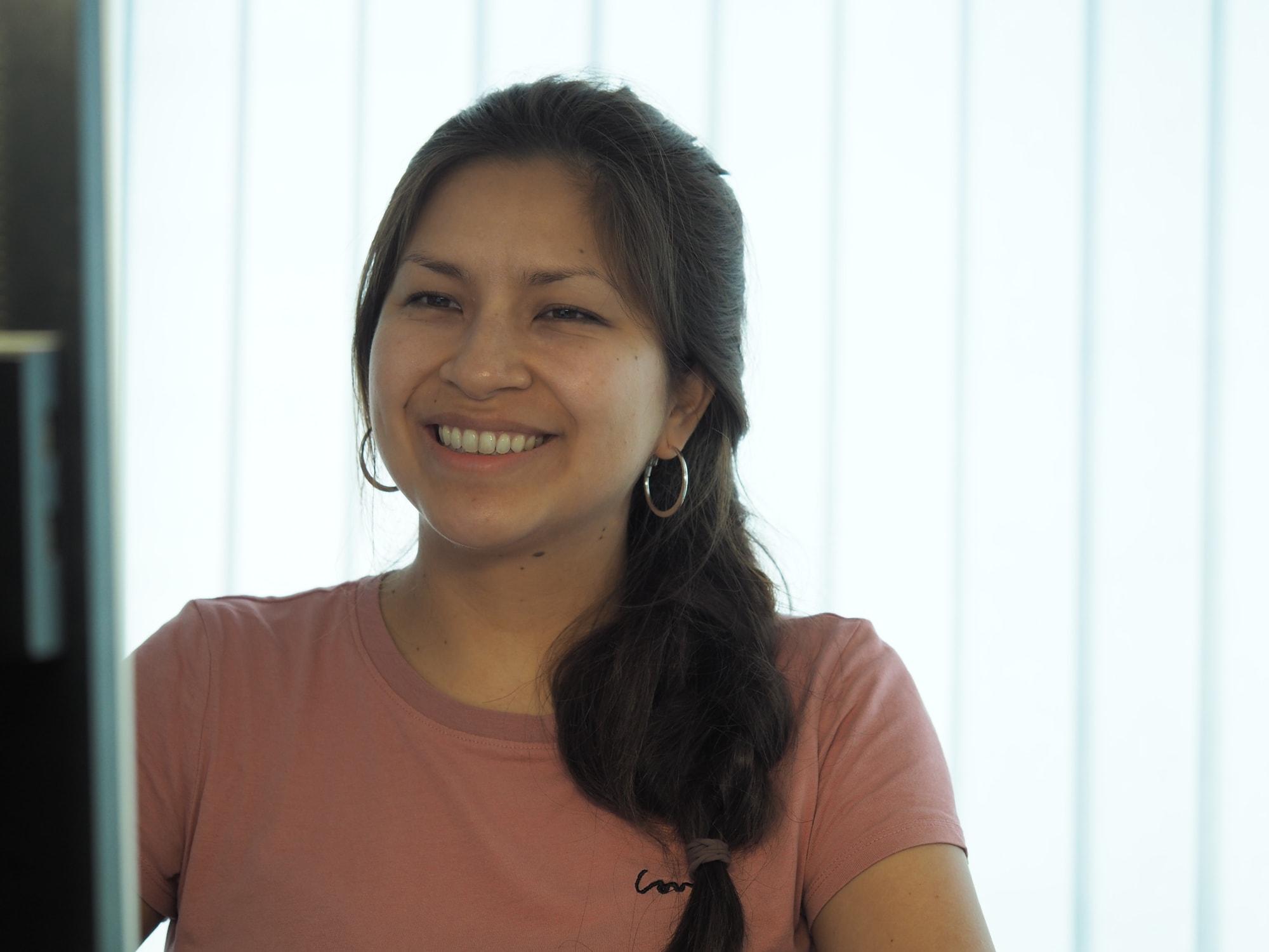 Andrea Stefania Acaro Narvaez, Testingenieurin für Weltraum-Hardware am IWF